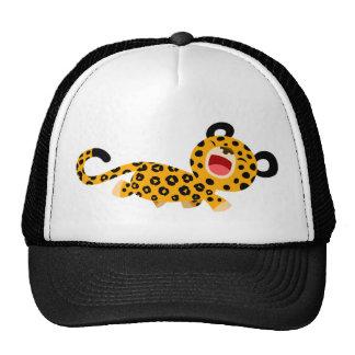 Cute Cartoon Facetious Leopard Hat