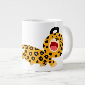 Cute Cartoon Facetious Leopard Jumbo Mug