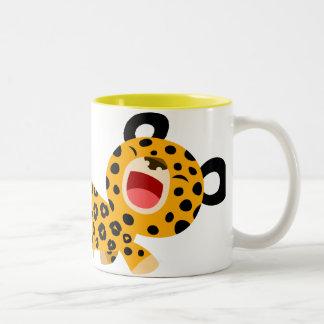 Cute Cartoon Facetious Leopard Mug