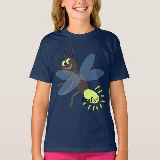 Cute Cartoon Firefly Kids' T-Shirt