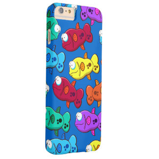 Cute cartoon Fish Barely There iPhone 6 Plus Case