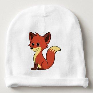 Cute Cartoon Fox Baby Beanie