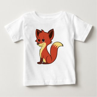 Cute Cartoon Fox Baby T-Shirt