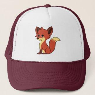 Cute Cartoon Fox Hat