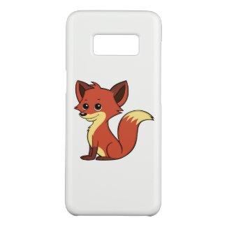 Cute Cartoon Fox White Samsung Galaxy S8 Case