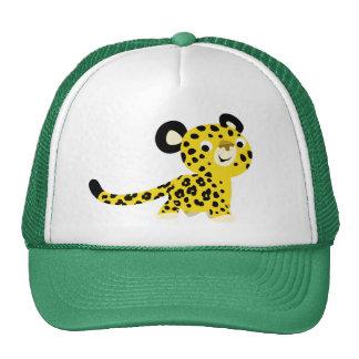 Cute Cartoon Friendly Leopard Hat
