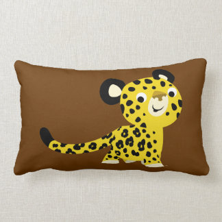 Cute Cartoon friendly Leopard Pillow