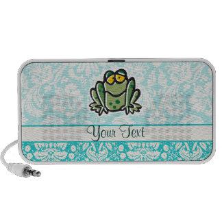 Cute Cartoon Frog iPod Speaker