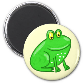 Cute Cartoon Frog Magnet