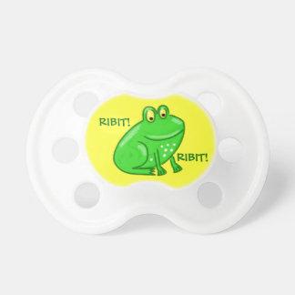Cute Cartoon Frog Pacifier
