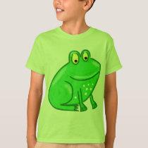 Cute Cartoon Frog T-Shirt