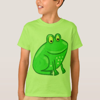 Cute Cartoon Frog T-Shirt