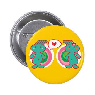 Cute Cartoon Fun Sweet Funny Funky Button