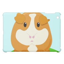 Cute Cartoon Ginger Brown Guinea Pig Case For The iPad Mini