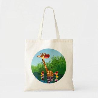 Cute Cartoon Giraffe and Ducklings Bag