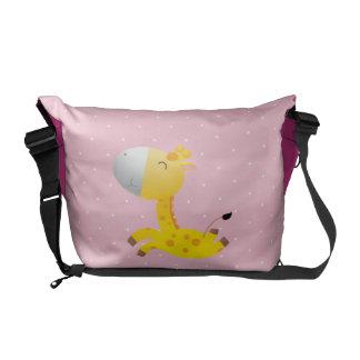 Cute Cartoon Giraffe Courier Bag