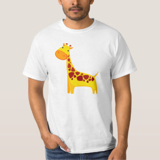 Cute cartoon giraffe illustration T-Shirt