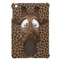 Cute Cartoon Giraffe iPad Mini Case