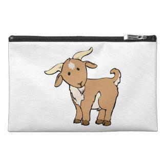 Cute Cartoon Goat Travel Accessory Bag
