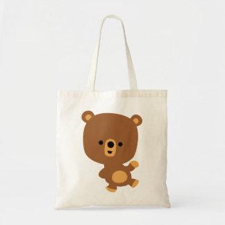 Cute Cartoon 'Good Vibe' Bear Bag