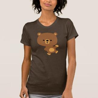 Cute Cartoon 'Good Vibe' Bear Women T-Shirt