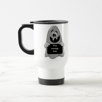 Cute Cartoon Goofy Ghost Custom Stainless Steel Travel Mug