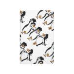 Cute Cartoon Graduating Penguins Journal