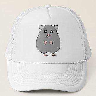 Cute Cartoon Grey Hamster Hat
