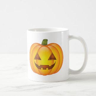 Cute Cartoon Halloween Jack O'Lantern Pumpkins Coffee Mug