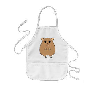 Cute Cartoon Hamster Apron / Smock