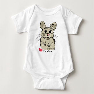 Cute Cartoon Hamster Baby Creeper