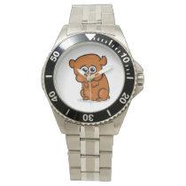 Cute Cartoon Hamster Watch