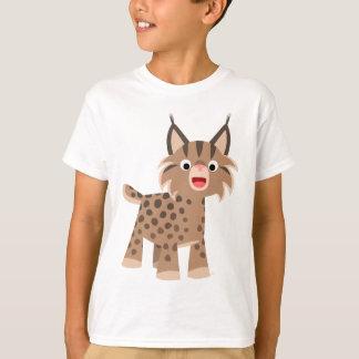 Cute Cartoon Happy Lynx Children T-Shirt