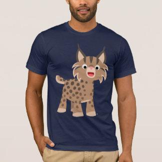 Cute Cartoon Happy Lynx T-Shirt