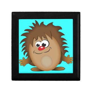 Cute Cartoon Hedgehog Jewelry Box