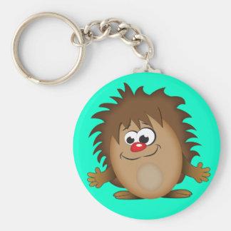 Cute Cartoon Hedgehog Keychains