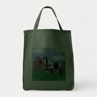Cute Cartoon horse Canvas Bag