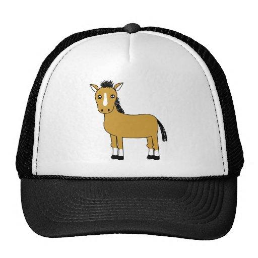 Cute Cartoon Horse Trucker Hats