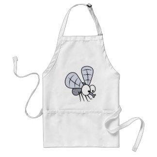 Cute Cartoon House Fly Adult Apron