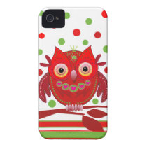 Cute cartoon iPhone 4 case with Owl
