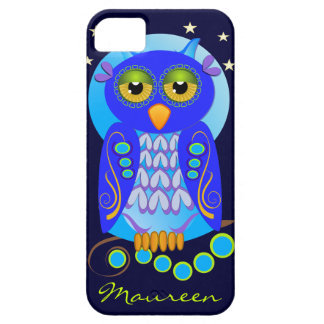 Cute Cartoon iPhone case-mate with Owl and Name iPhone SE/5/5s Case