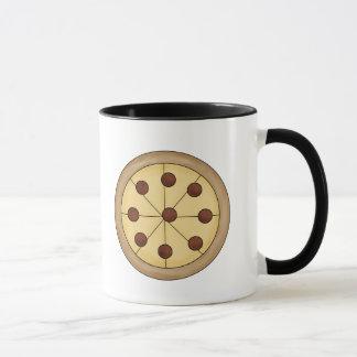 Cute Cartoon Italian Pizza Pie Delicious Meal Mug
