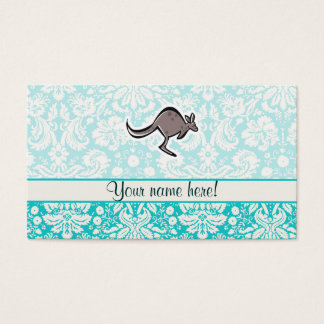 Cute Cartoon Kangaroo Business Card
