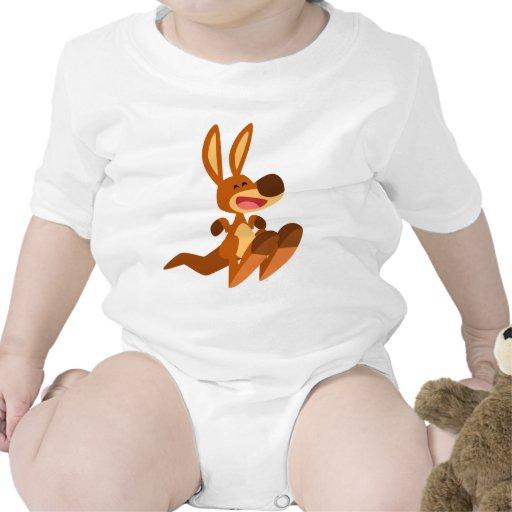 Cute Cartoon Kangaroo Joey Baby Apparel Tshirt