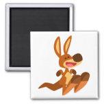Cute Cartoon Kangaroo Joey Magnet