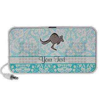 Cute Cartoon Kangaroo Travel Speakers