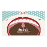 Cute Cartoon Kid Pediatric Dentistry Business Card