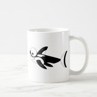 Cute Cartoon Killer Whale Coffee Mug