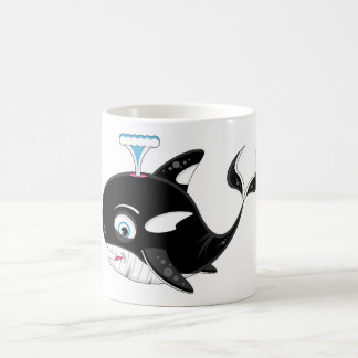 Cute Cartoon Killer Whale Coffee Mug