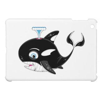 Cute Cartoon Killer Whale iPad Mini Cover